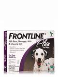 Frontline® Plus for Dogs (45-88 lbs) - 3 Applicators