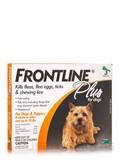 Frontline® Plus for Dogs and Puppies (8 weeks or older and up to 22 lbs) - 3 Applicators