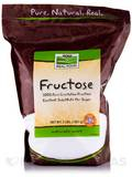 NOW Real Food® - Fructose Fruit Sugar - 3 lbs (1361 Grams)