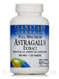 Full Spectrum Astragalus Extract 500 mg 120 Tablets