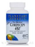 Full Spectrum Cordyceps 450 mg 120 Tablets
