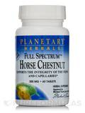 Full Spectrum Horse Chestnut 300 mg - 60 Tablets