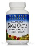 Full Spectrum Nopal Cactus 1000 mg 60 Tablets