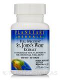 Full Spectrum St. John's Wort Extract 600 mg 30 Tablets