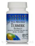 Full Spectrum Turmeric Extract 450 mg - 30 Tablets