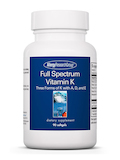 Full Spectrum Vitamin K™ - 90 Softgels