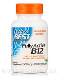 Fully Active B12 1500 mcg - 180 Veggie Capsules
