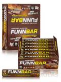 FunnBar Protein Candy Chews Caramel Chocolate - BOX OF 12 BARS