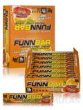 FunnBar Protein Candy Chews Orange Cream - BOX OF 12 BARS