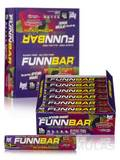 FunnBar Protein Candy Chews Tropical Berry - Box of 12 Bars