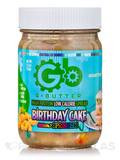 G Butter Birthday Cake with Sprinkles - 12.6 oz (352 Grams)