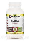 GABA 250 mg -Hypoallergenic - 150 Vegetarian Capsules