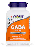 GABA 500 mg with B-6 2 mg - 100 Capsules