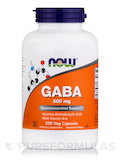 GABA 500 mg with B-6 2 mg - 200 Capsules