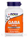 GABA 750 mg 100 Vegetarian Capsules
