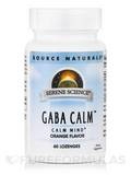 Serene Science® GABA Calm™, Orange Flavor - 60 Lozenges