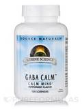 Gaba Calm Sublingual Peppermint 120 Tablets