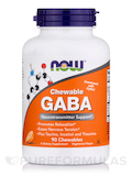 GABA Orange Flavor - 90 Chewables Tablets
