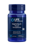 Gamma E Tocopherol with Sesame Lignans - 60 Softgels