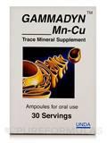 Gammadyn Mn-Cu - 30 Ampoules