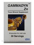 Gammadyn Zn - 30 Ampoules
