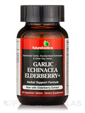 Garlic Echinacea Elderberry+ - 60 Vegetarian Tablets