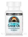 Garlic Oil (Tasteless & Odorless) - 100 Softgels