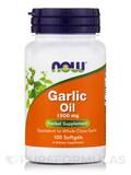 Garlic Oil 1500 mg - 100 Softgels