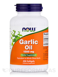 Garlic Oil 1500 mg 250 Softgels