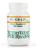 GB-LIV (#3) (Herbals) 100 Tablets