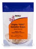 Triple '000' Gelatin Caps - 200 Empty Capsules