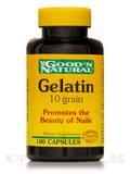 Gelatin 10 grain - 100 Capsules