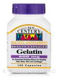 Gelatin 600 mg 100 Capsules