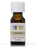 Geranium Essential Oil (Pelargonium graveolens) 0.5 fl. oz (15 ml)
