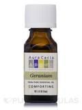Geranium Essential Oil (Pelargonium graveolens) - 0.5 fl. oz (15 ml)