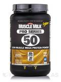 GF Muscle Milk Pro Series 50 Chocolate - 2.54 lbs (40.7 oz / 1154 Grams)