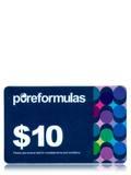 PureFormulas Gift Card Blue