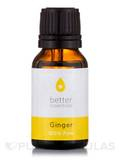 Ginger Essential Oil (Zingiber officinale) - 15 ml