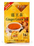 Ginger Green Tea BOX OF 16 BAGS