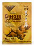 Ginger Honey Crystals - BOX OF 10 BAGS (18 Grams each)