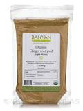 Organic Ginger Root Powder 1 Lb (454 Grams)