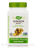 Ginger Root - 180 Vegan Capsules