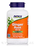 Ginger Root 550 mg - 100 Capsules