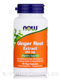 Ginger Root Extract 250 mg 90 Vegetarian Capsules