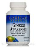 Ginkgo Awareness 500 mg - 120 Tablets