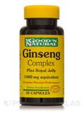 Ginseng Complex Plus Royal Jelly 1000 mg 50 Capsules