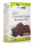 LivingNow™ Gluten-Free Organic Chocolate Fudge Brownie Mix 16 oz (454 Grams)