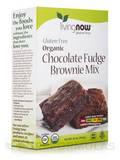 LivingNow™ Gluten-Free Organic Chocolate Fudge Brownie Mix - 16 oz (454 Grams)