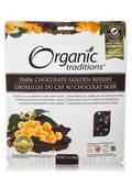 Golden Berries, Dark Chocolate - 5.3 oz (150 Grams)