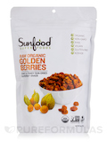 Golden Berries, Organic, Raw - 8 oz (227 Grams)